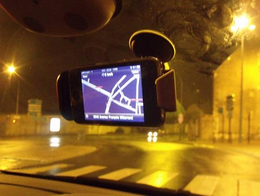 Support GPS Magellan Premium Car Kit DSCF0187