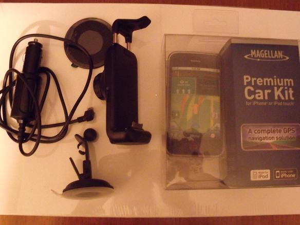 Support GPS Magellan Premium Car Kit DSCF0192
